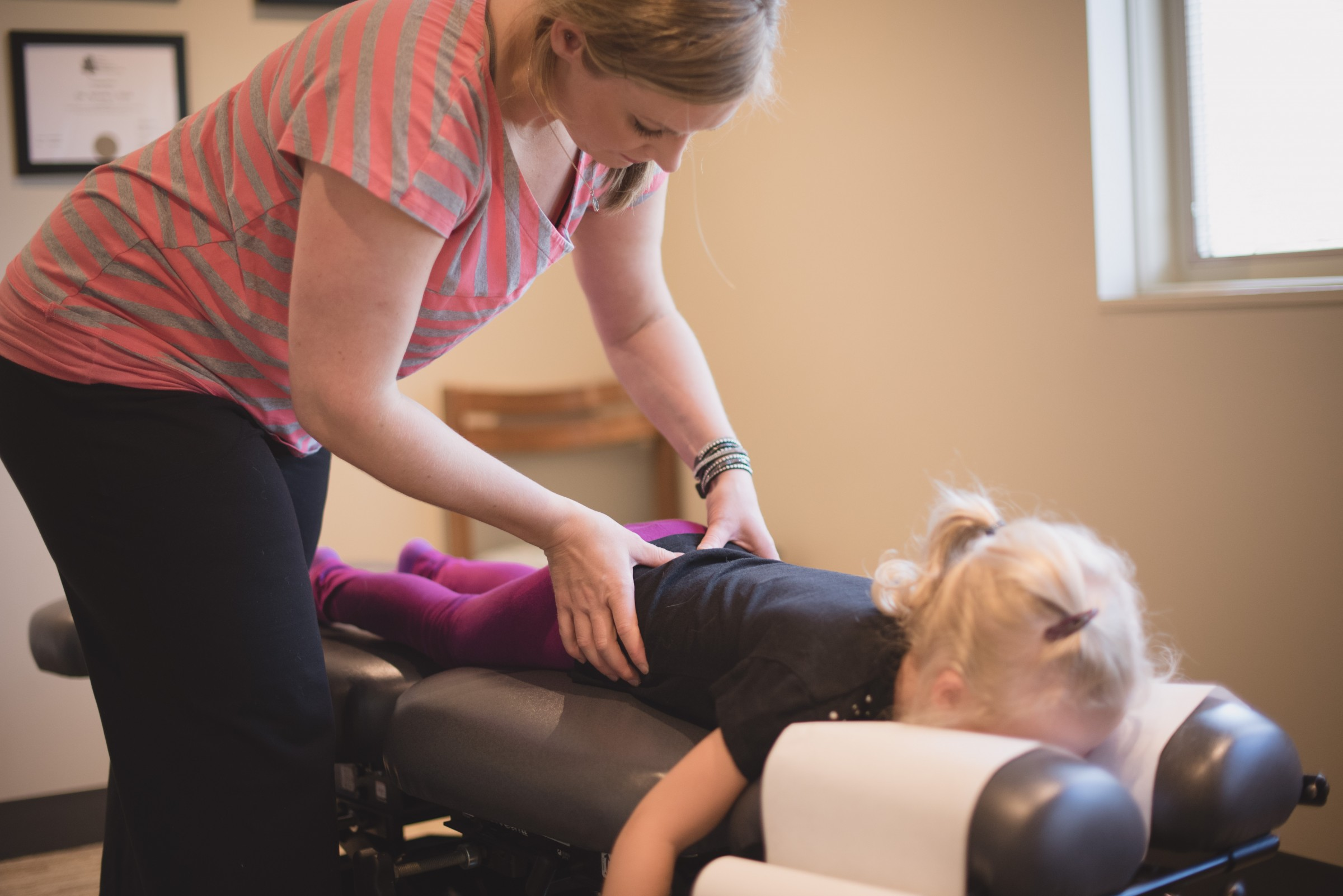 Child Spinal Adjustment